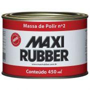 Massa de Polir Utomotiva Nº2 Maxxi Rubber 490g