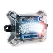 Medidor de Audio AJK Central Mini VU 3 Efeitos LED Clip e Saída para Régua VU