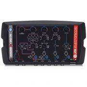 Mesa Crossover JFA X4 Bass 4 Canais 4 Vias Mono ou Estéreo Automotivo Controle Individual de LEVEL