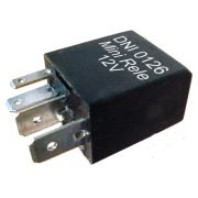 Mini rele auxiliar 12v 4 terminais
