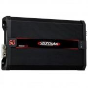 Módulo Amplificador Digital SounDigital SD8000.1D EVO 2 Black 1 Canal 8000 Watts RMS 1 Ohm