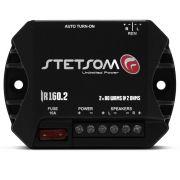 Módulo Amplificador Digital Stetsom Iron Line IR160.2 160W Rms 2 Canais 2 Ohms