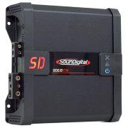 Módulo Amplificador SounDigital SD1200 1D1 EVO 1200W Rms 1 Ohms 1 Canal