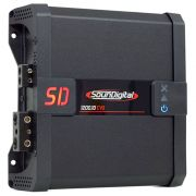 Módulo Amplificador SounDigital SD1200 1D2 EVO 1200W Rms 1 Canal 2 Ohms