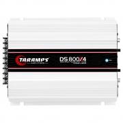 Módulo Amplificador Taramps DS 800X4 800W RMS 4 Canais 1 Ohms