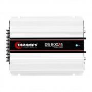 Módulo Amplificador Taramps DS800X4 800W RMS 4 Canais 2 Ohms