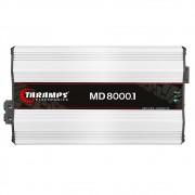 Módulo Amplificador Taramps MD8000 8000 Rms 1 Canal 2 Ohms