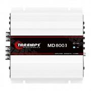 Módulo Amplificador Taramps MD800 800 Rms 1 Canal 2 Ohms