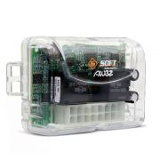 Módulo de Vidro Elétrico Soft AW 32 Antiesmagamento Universal Subida e Descida Via Alarme 2 Portas