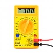 Multimetro Digital DT830B Display Lcd com Indicação de Bateria Fraca