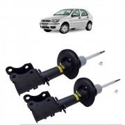 Par de amortecedor dianteiro Fiat Palio Economy 2009 Palio RST 2007 Palio Way 2013 direito esquerdo