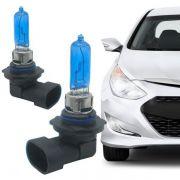 Par de Lâmpada Automotiva Farol HB3 9005 12V 55W 8500K Azulado