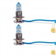 Par Lâmpada de Farol H3 12V 55W Super Visaion Ultra Excelite