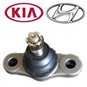 Pivô de Suspensão Inferior Unidade Kia Cerato 2009 a 2013 Carens 2007 a 2012 Carens 2007 a 2012 Hyundai i30 2007 a 2013
