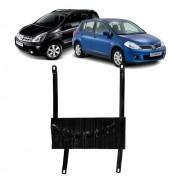 Protetor de Cárter Nissan Tiida 2008 a 2014 Livia 1.6 1.6 Flex /SL 2009 a 2014