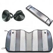 Protetor Solar Parasol Automotivo Parabrisa Frontal Metalizado