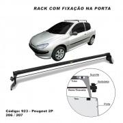 Rack Peugeot 206 207 Hacth e Sedan 2 Portas