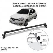 Rack Renault Clio Hatch Sedan 4 Portas 2001 até 2012