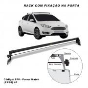 Rack Teto Travessa Ford Focus Hatch 4 Portas 2013 até 2018