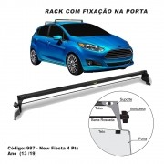 Rack Teto Travessa Ford New Fiesta Hatch Sedan 2013 A 2020