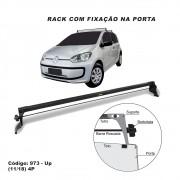 Rack Teto Travessa Vw UP 2011 A 2020 4 Portas