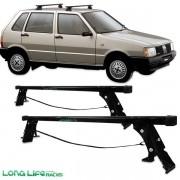 Rack Travessa Fiat Uno Elba Prêmio 2004 4 Portas F4 60 Kg