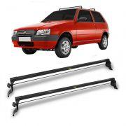 Rack Travessa Teto Fixo Fiat Uno 4 portas 1993 a 2013