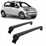 Rack Travessa Vw UP 2 e 4 Portas Preto