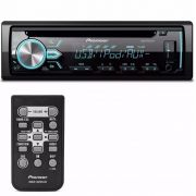 Rádio Automotivo Player Pioneer DEH-X10BR Cd Mp3 Usb Android IOS Spotify
