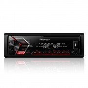 Rádio MP3 Player Automotivo Pioneer MVH-S108UI Interface UBS Android Iphone MixTrax AM FM