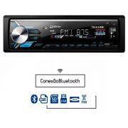 Rádio MP3 Player Automotivo Tiger TG-4.3.006 1 Din com USB SD AUX RCA FM Bluetooth