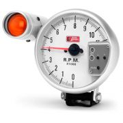 Relógio Contagiros Gauge 5 Pol 125mm RPM 1000 Alta Performace com Shift Light
