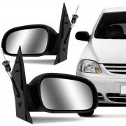 Espelho Retrovisor Controle Interno Vw Fox 2003 a 2010 2 e 4 Portas Direito