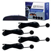 Sensor de Estacionamento Tiger Preto Brilho c/Display e Aviso Sonoro