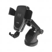 Suporte Carregador Indução Wireless Veicular Ventosa H-tech HT-SC002