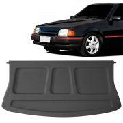 Tampão Traseiro Bagagito Porta Mala Ford Escort Fase 1 1987 a 1996 Plástico Cinza