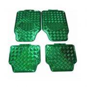 Tapete Esportivo Alumínio Universal Verde 4 peças