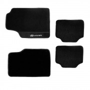 Tapete PVC Texturizado 3MM Universal Preto com Detalhe Lateral Hyundai