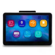 Tela De Encosto De Cabeça Touch 8 polegadas Usb Sd Card MP3 MP4 Com Espelhamento Android