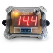 Voltímetro Digital em Led Ajk Sound Display