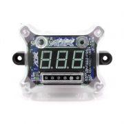 Voltímetro Digital New Remote Control Dysplay Azul AJK
