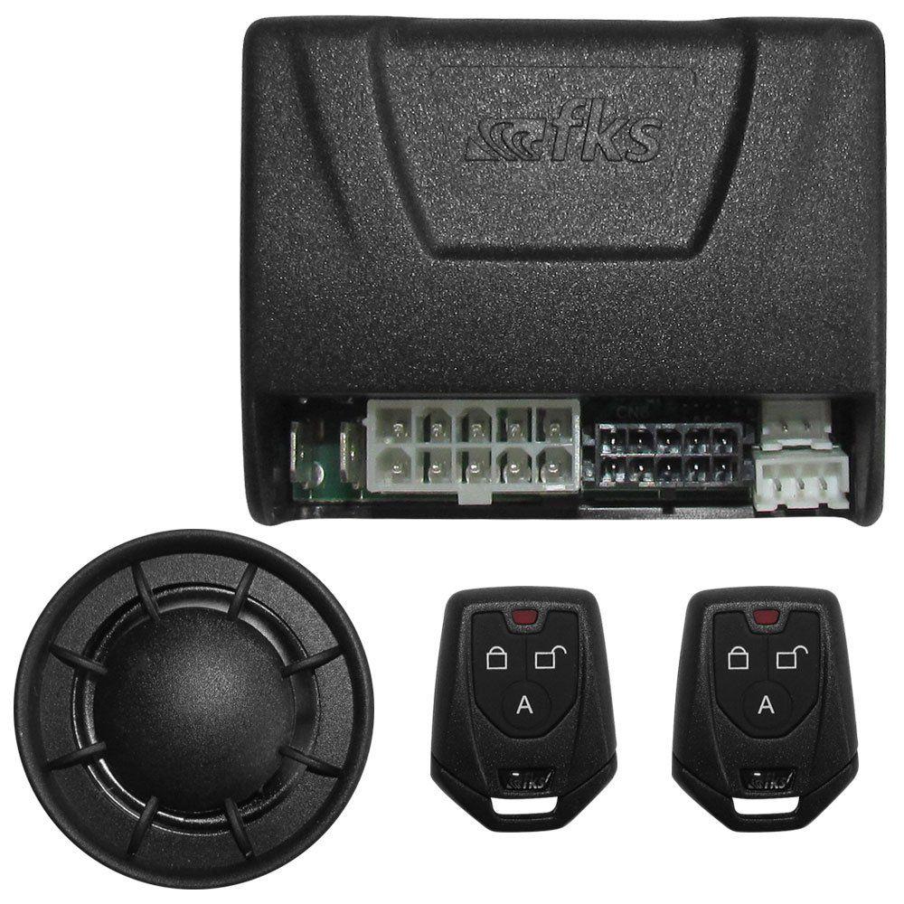 Alarme Automotivo Universal FKS FK903 Plus Função Bloqueio Do motor e Travamento de Portas  - AutoParts Online
