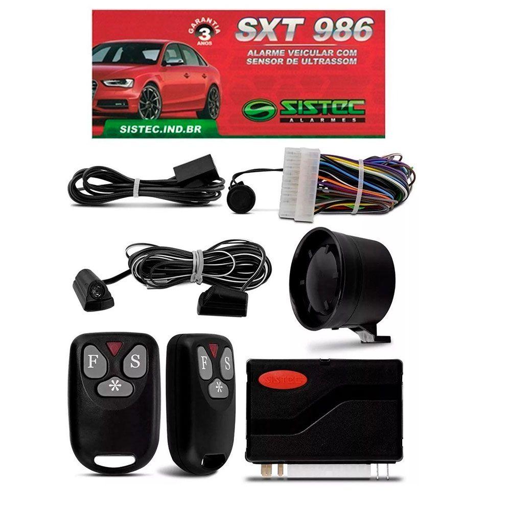 Alarme Automotivo Universal Sistec SXT986 com Sirene Travamento e Controle  - AutoParts Online