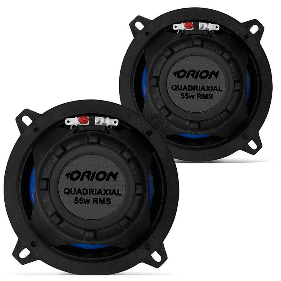 Alto Falante Quadriaxial Orion 5 Pol 55W RMS 4 Ohms  - AutoParts Online