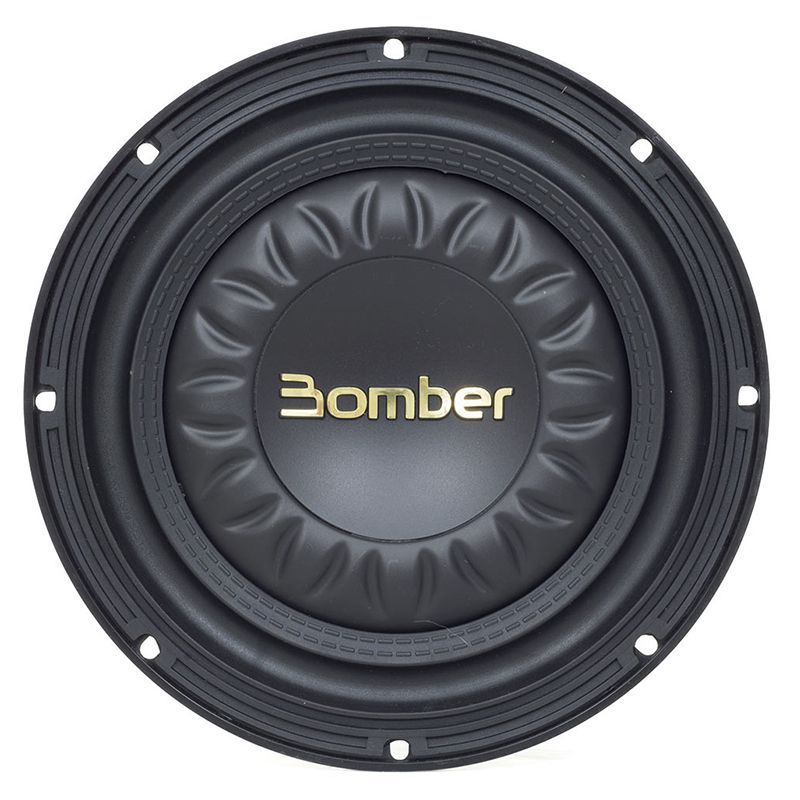 "Alto Falante Subwoofer Slim Hight Power Bomber 8"" 300W RMS 4 OHMS  - AutoParts Online"