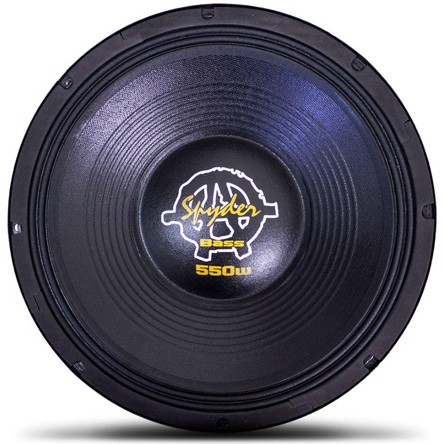 Alto Falante Woofer Spyder Kaos Bass 12 Pol 550W Rms 4 Ohms  - AutoParts Online