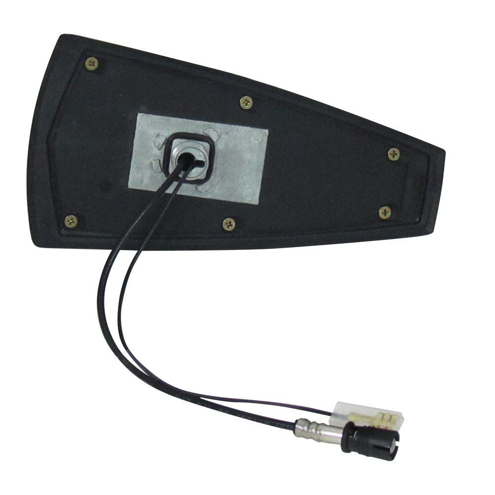 Antena Automotiva de Teto Eletrônica Modelo Tubarão Shark Prata  - AutoParts Online