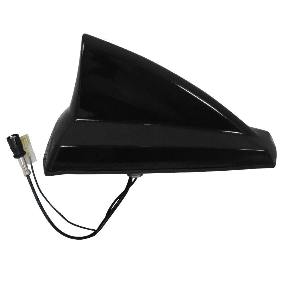 Antena Automotiva de Teto Eletrônica Modelo Tubarão Shark Preta  - AutoParts Online