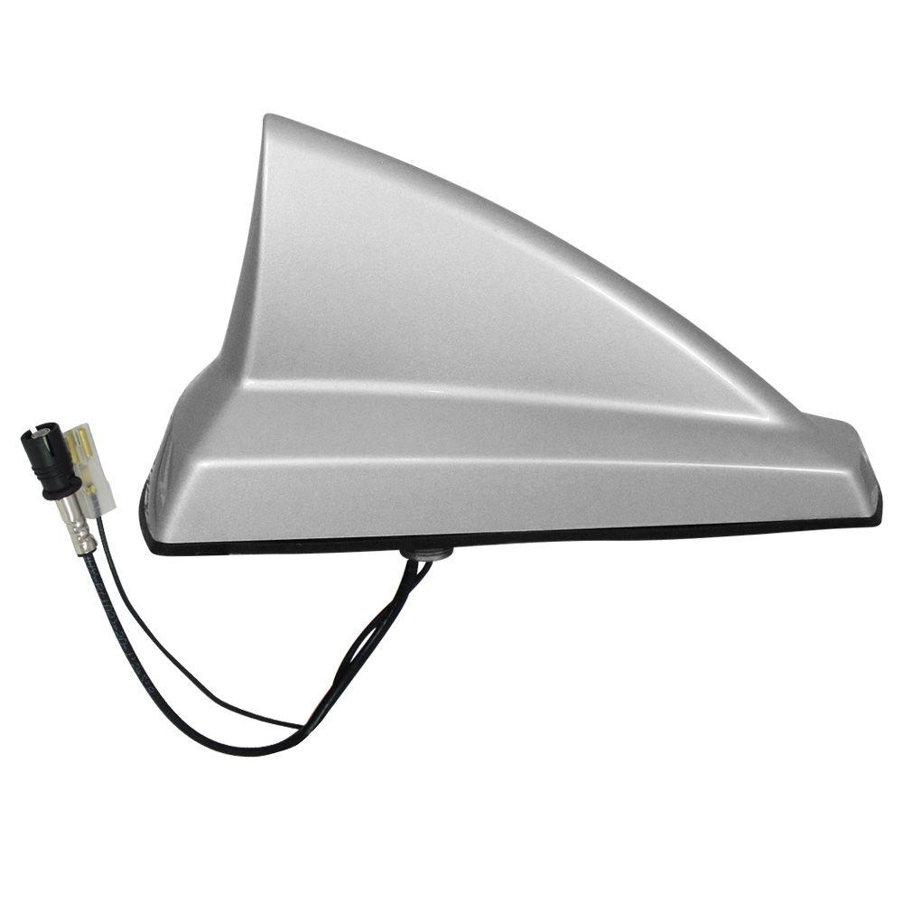 Antena Automotiva de Teto Decorativa Olimpus New Shark Primer Preta  - AutoParts Online