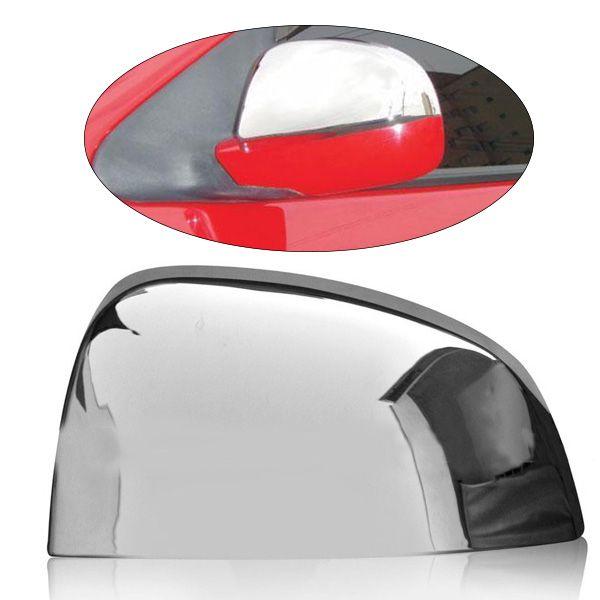 Aplique Cromado do Retrovisor Específico para Fiesta 02, Ka 08 ? Lado Direito  - AutoParts Online